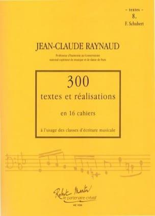 300 Textes et Realisations Cahier 8 (textes): Schubert laflutedepan