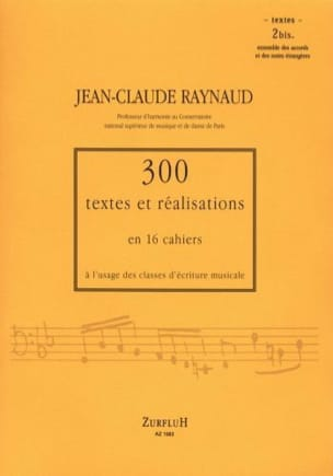 300 textes et réalisations, cahier 2bis (textes) laflutedepan