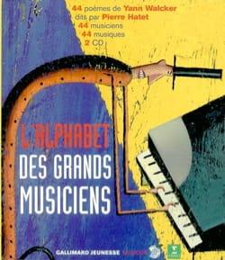 L'alphabet des grands musiciens Yann WALCKER Livre laflutedepan