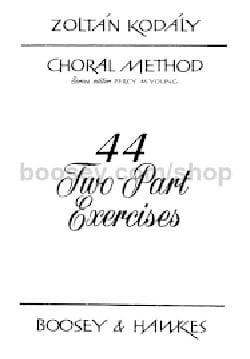 44 two part exercices KODALY Livre laflutedepan