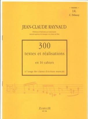 300 Textes et Realisations Cahier 14 (Textes): C.Debussy laflutedepan