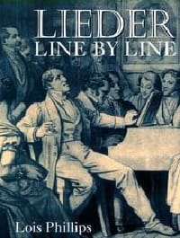 Lieder line by line and word for word Lois PHILLIPS Livre laflutedepan