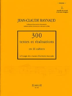 300 Textes et Realisations Cahier 2 (textes) laflutedepan