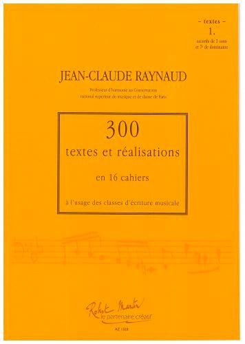 300 textes et réalisations, cahier 1 (textes) - laflutedepan.com