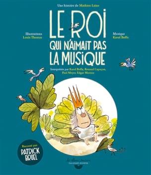 Le roi qui n'aimait pas la musique Mathieu LAINE Livre laflutedepan