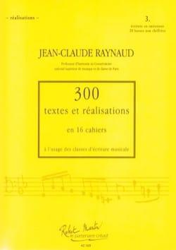 300 Textes et Realisations Cahier 3 (textes): écriture en imitation laflutedepan