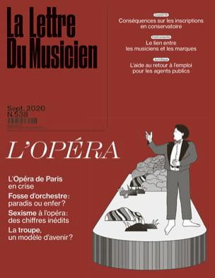 La lettre du musicien, n° 538 (septembre 2020) : L'opéra laflutedepan