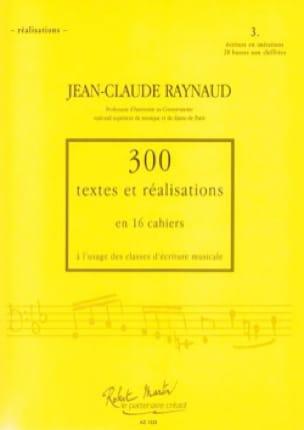 300 Textes et Realisations Cahier 3 (textes): écriture en imitation - laflutedepan.com