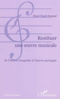 Restituer une oeuvre musicale : de l'oeuvre imaginée à l'oeuvre partagée laflutedepan