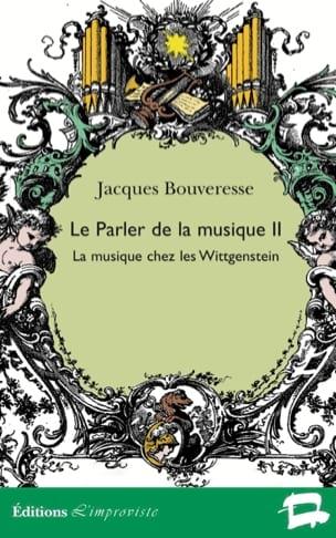 Le Parler de la musique vol.2 Jacques BOUVERESSE Livre laflutedepan