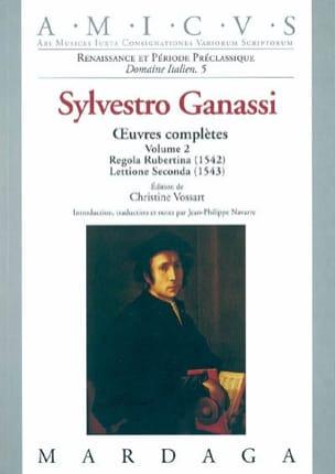 Oeuvres complètes Volume 2, Regola Rubertina (1572), Lettione Seconda (1543) laflutedepan
