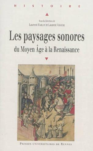 HABLOT Laurent / VISSIÈRE Laurent (dir.) - Soundscapes: from the Middle Ages to the Renaissance - Livre - di-arezzo.co.uk