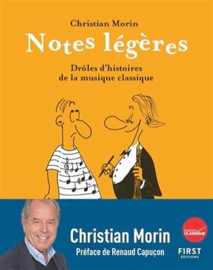 Notes légères : drôles d'histoires de la musique classique laflutedepan