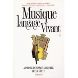Musique langage vivant, vol. 3 Sabine BÉRARD Livre laflutedepan