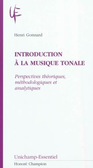 Introduction à la musique tonale Henri GONNARD Livre laflutedepan