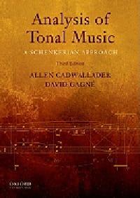 Analysis of tonal music : a Schenkerian approach (livre en anglais) laflutedepan
