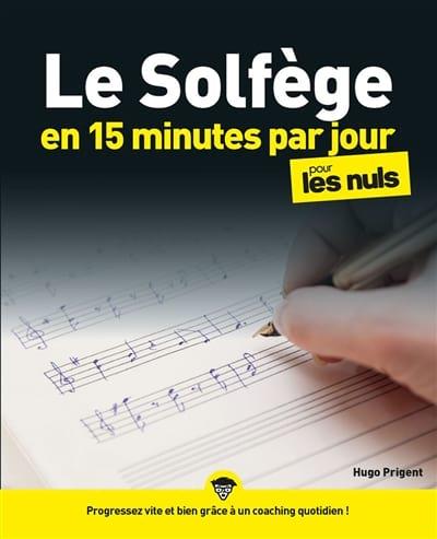 Le Solfège en 15 minutes par jour - Livre - laflutedepan.com