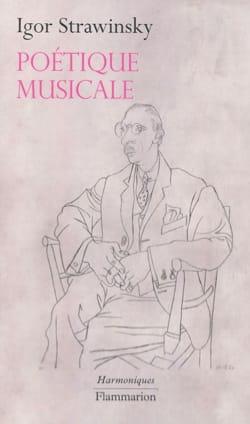 Poétique musicale sous forme de six leçons STRAVINSKY laflutedepan