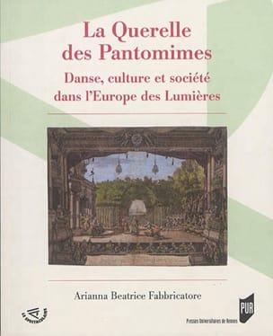 La querelle des pantomimes FABBRICATORE Ariana Beatrice laflutedepan