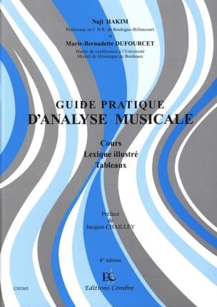 HAKIM Naji / DUFOURCET Marie-Bernadette - Guía práctica para el análisis de la música: curso, léxico ilustrado, tablas - Livre - di-arezzo.es