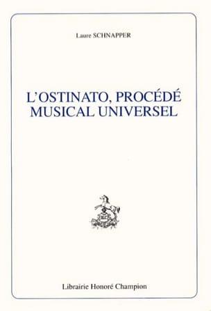L'ostinato, procédé musical universel Laure SCHNAPPER laflutedepan