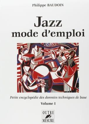 Jazz mode d'emploi, vol. 1 Philippe BAUDOIN Livre laflutedepan