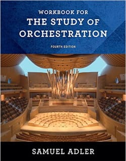 Workbook for the study of orchestration - 4th edition laflutedepan