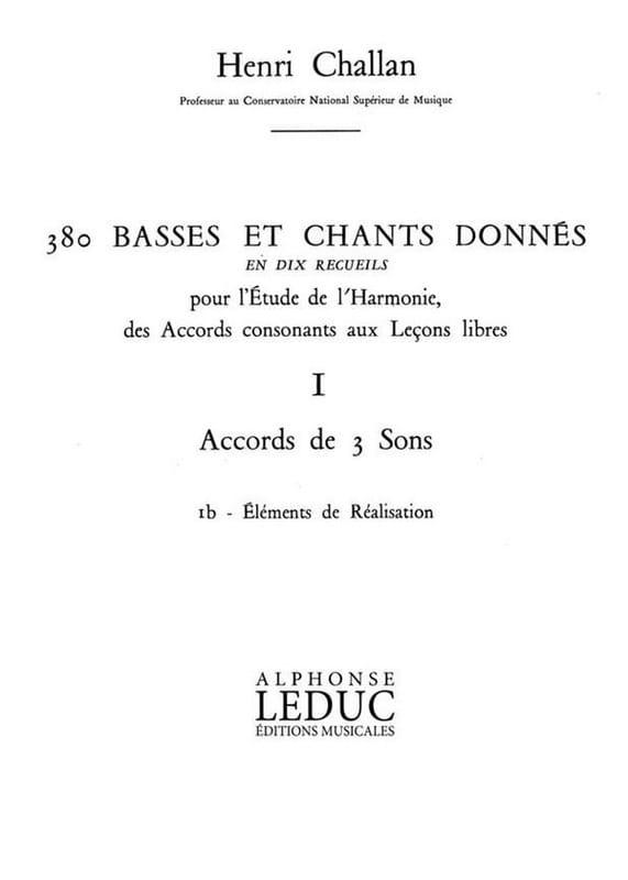 380 BASSES ET CHANTS DONNES, vol 1B: réalisations - laflutedepan.com