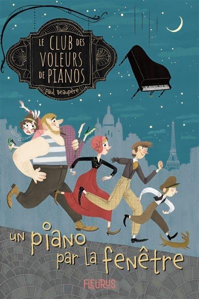 Le Club des Voleurs de Pianos : Un piano par la fenêtre - laflutedepan.com