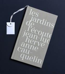 HERVÉ Jean-Luc / CAUQUELIN Anne - 聞く庭園 - Livre - di-arezzo.jp