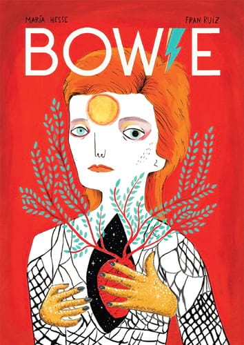Bowie - RUIZ Fran / HESSE Maria - Livre - laflutedepan.com