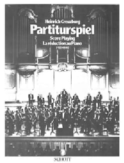 Partiturspiel : Score playing (La réduction au piano), vol. 1 laflutedepan