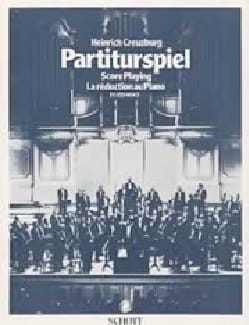 Partiturspiel, Bd 4 Heinrich Creuzburg Livre laflutedepan