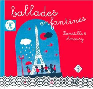 Ballades Enfantines DOMITILLE et AMAURY Livre laflutedepan