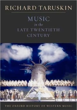 Music in the Late Twentieth Century Richard TARUSKIN laflutedepan