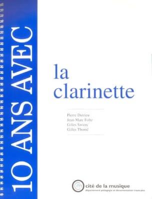10 Ans Avec la Clarinette Collectif Livre laflutedepan