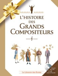 L'histoire des Grands Compositeurs Claire LAURENS Livre laflutedepan