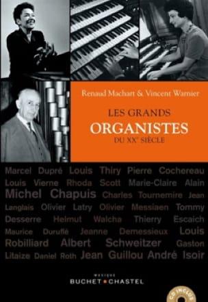 Les grands organistes du XXème siècle - laflutedepan.com