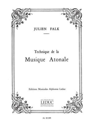 Technique de la musique atonale Julien FALK Livre laflutedepan