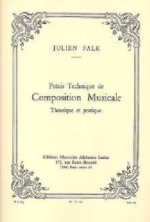 Précis technique de composition musicale Julien FALK laflutedepan
