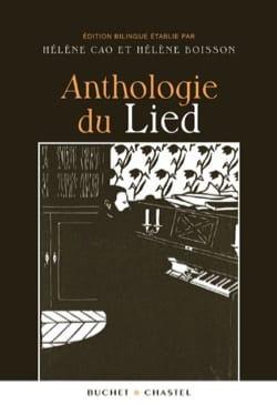 Anthologie du lied - Hélène CAO - Livre - laflutedepan.com