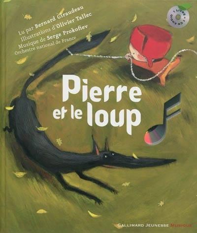 Pierre et le Loup - PROKOFIEV - Livre - laflutedepan.com