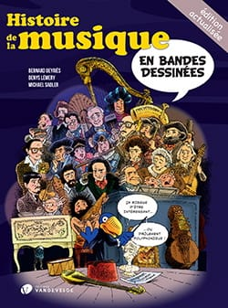 Histoire de la musique en bandes dessinées laflutedepan