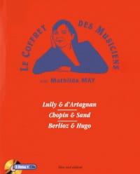 Le coffret des musiciens - Mathilde MAY - Livre - laflutedepan.com