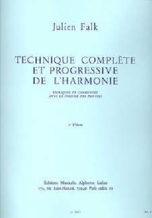 Technique complète et progressive de l'harmonie vol. 1 laflutedepan