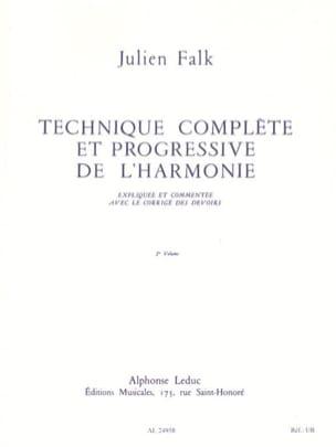 Technique complète et progressive de l'harmonie vol. 2 laflutedepan