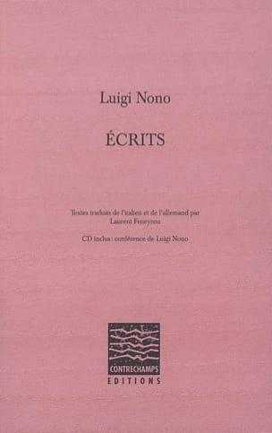 Écrits - Luigi NONO - Livre - Les Hommes - laflutedepan.com