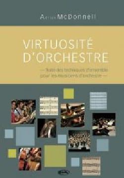 Virtuosité d'orchestre MC DONNELL Adrian Livre laflutedepan