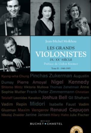 Les grands violonistes du XXe siècle, Tome 2: 1948-1985 - laflutedepan.com