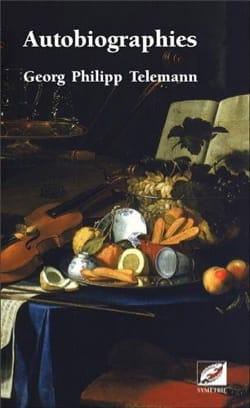 Autobiographies TELEMANN Livre Les Hommes - laflutedepan